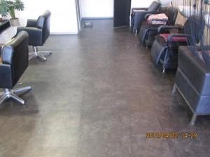 大阪定期清掃 美容室 bfore01
