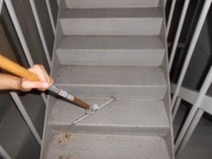 定期清掃 非常階段の清掃 大阪01