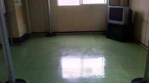 大阪 ビル定期清掃 床表面洗浄 01