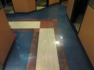 定期清掃 床清掃 商業施設02