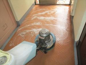 025_R大阪 定期清掃 マンション共有床清掃03