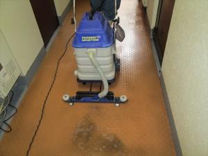 025_R大阪 定期清掃 マンション共有床清掃07