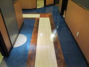 定期清掃 床清掃 商業施設06