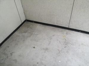 大阪市中央区 定期清掃 共有箇所 床清掃01
