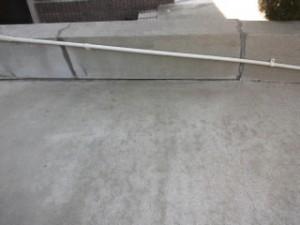 高圧洗浄 大阪 駐車場階段04