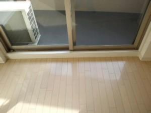 大阪 ハウスクリーニング 高層マンション フローリング清掃