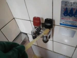兵庫県西宮市 ハウスクリーニング ガス元栓清掃02