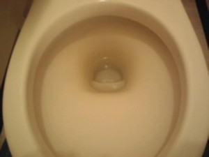 兵庫県西宮市 ハウスクリーニング トイレ清掃 尿石除去03