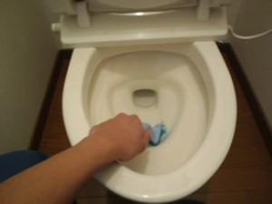 兵庫県三田市 ハウスクリーニング トイレ清掃02