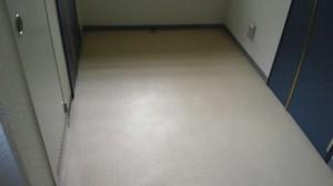 定期清掃 尼崎市 マンション共有廊下の床清掃01