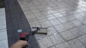 大阪市東淀川区 定期清掃 マンション床清掃03