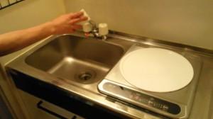 大阪 ハウスクリーニング キッチンまわり清掃02