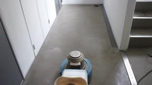 大阪市北区 定期清掃 床清掃02