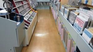 京都市内 店内床洗浄とワックス01
