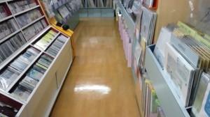 京都市内 店内床洗浄とワックス03