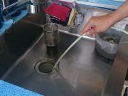 西宮市 ハウスクリーニング 台所 排水管 高圧洗浄