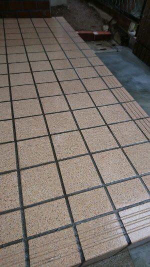 タイル洗浄 大阪 コーティング 石材 タイルコーティング