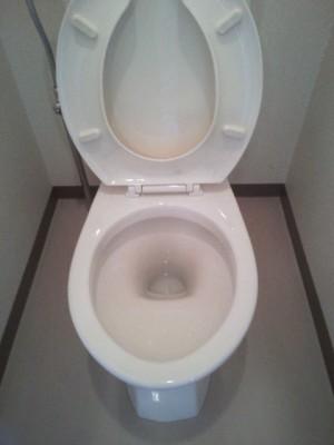 大阪市 ハウスクリーニング トイレ清掃後