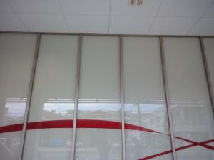 大阪 定期清掃 アミューズメント施設 窓清掃 作業後