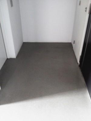 大阪 定期清掃 マンション共有部分 床清掃後