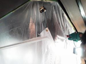 定期清掃 天井カセット型エアコン清掃03