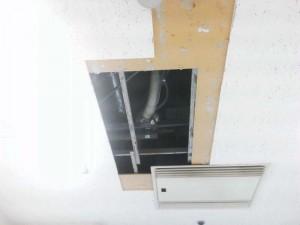 大阪 リフォーム 天井の張替え02