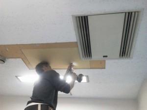 大阪 リフォーム 天井の張替え03