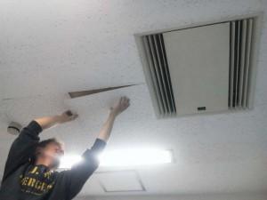 大阪 リフォーム 天井の張替え04