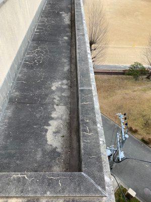 屋上の溝つまり解消 業者清掃